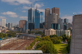 Great view of the CBD from the MCG