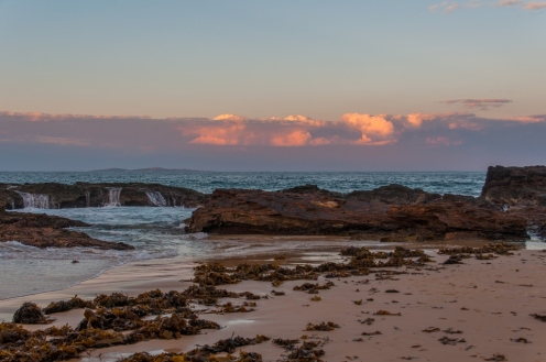 Early evening view of Mystery Bay