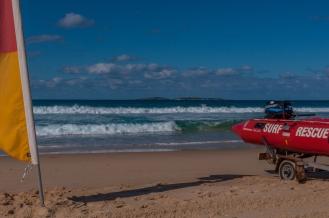 Surf Beach, Narooma and the Surf Life Savers