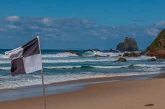 SLSC flag at Surf Beach, Narooma