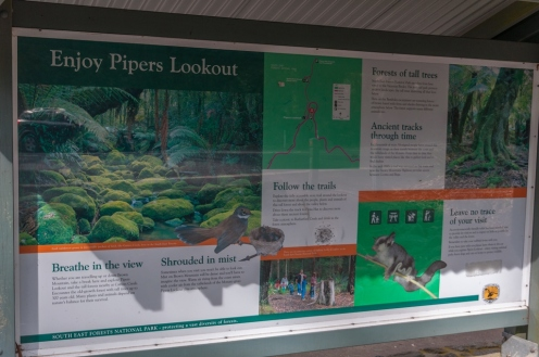 Information about Pipers Lookout.