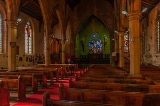 Inside Holy Trinity Anglican Church Millers Point