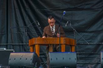 Tim Meyen and his cimbalom