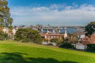 The from Sydney Observatory