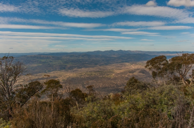 View from the Summit of Mt. Tennent