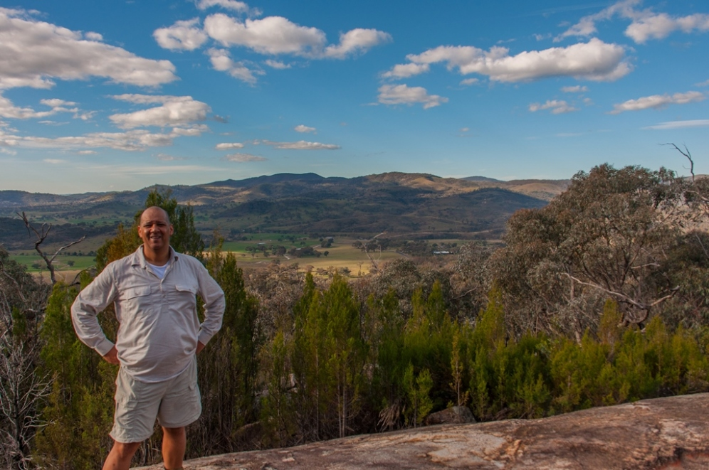 Me at Cypress Pine Lookout