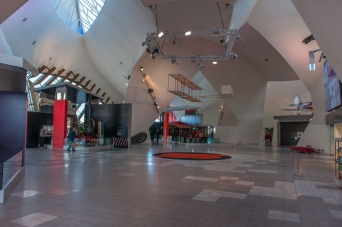 The lobby to the Museum