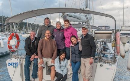 Eight go sailing