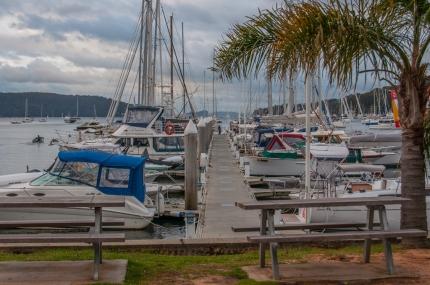 Pittwater marina