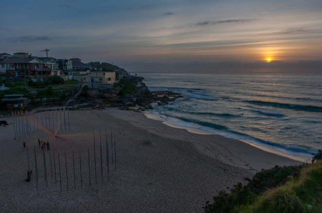 Tamarama Beach at first light