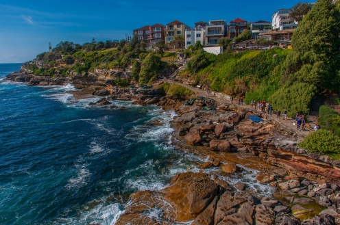 Part of the Coastal Walk near Bondi