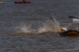 ...splash!