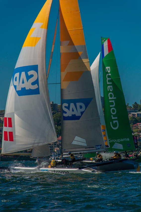 Sap and Groupama go head to head