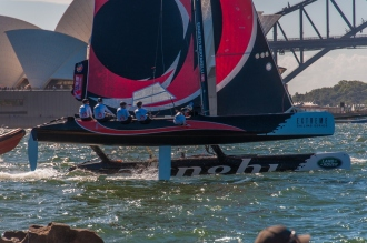 Team Alinghi, the overall winners
