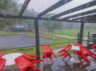 The rain was immense!