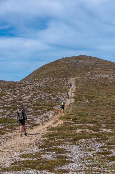 Heading for Mt Kosciuszko