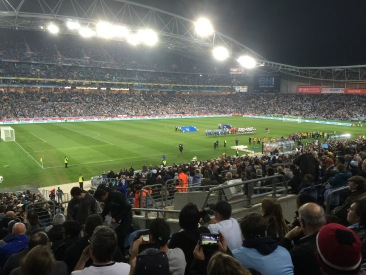 Inside the ANZ Stadium for the Tottenham v Sydney FC game