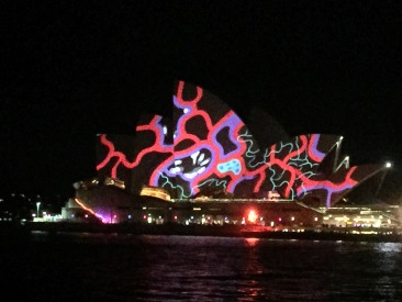 The Opera House during vidid